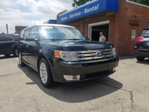 2011 Ford Flex for sale at BELLEFONTAINE MOTOR SALES in Bellefontaine OH