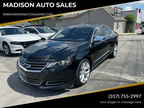 2014 Chevrolet Impala for sale at MADISON AUTO SALES in Indianapolis IN