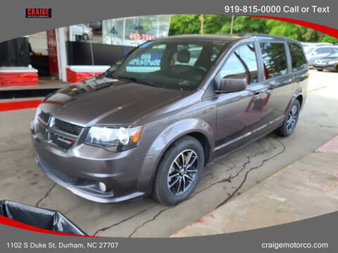2018 Dodge Grand Caravan for sale at CRAIGE MOTOR CO in Durham NC