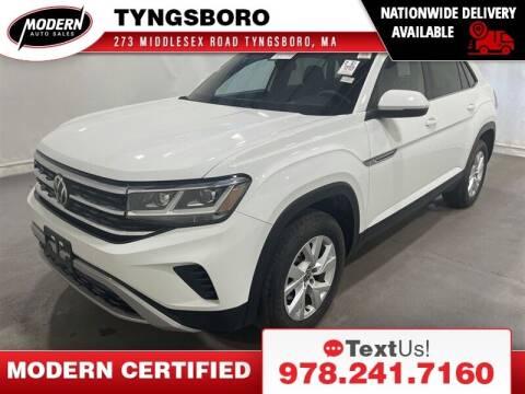 2020 Volkswagen Atlas Cross Sport for sale at Modern Auto Sales in Tyngsboro MA