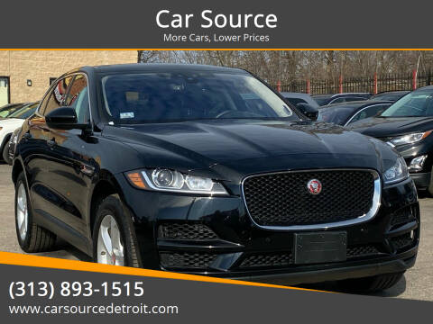 2020 Jaguar F-PACE for sale at Car Source in Detroit MI