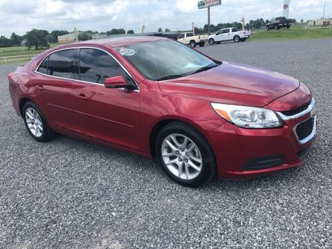 2014 Chevrolet Malibu for sale at RAYMOND TAYLOR AUTO SALES in Fort Gibson OK