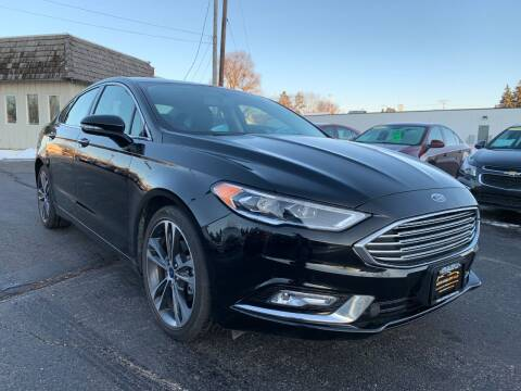 2018 Ford Fusion for sale at Auto Gallery LLC in Burlington WI