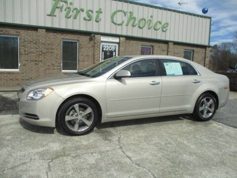2012 Chevrolet Malibu for sale at First Choice Auto in Greenville SC