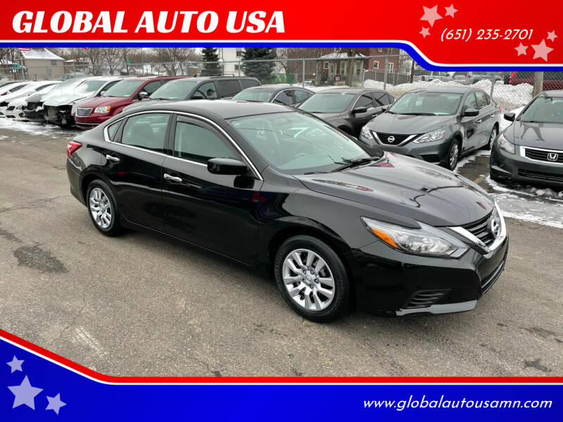 2016 Nissan Altima for sale at GLOBAL AUTO USA in Saint Paul MN