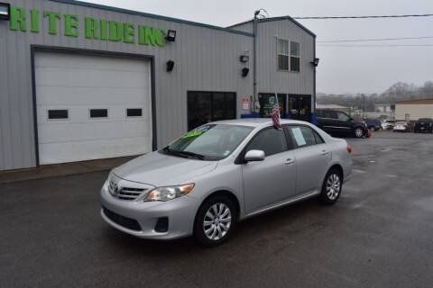 2013 Toyota Corolla for sale at Rite Ride Inc 2 in Shelbyville TN