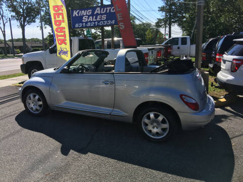 2007 Chrysler PT Cruiser for sale at King Auto Sales INC in Medford NY