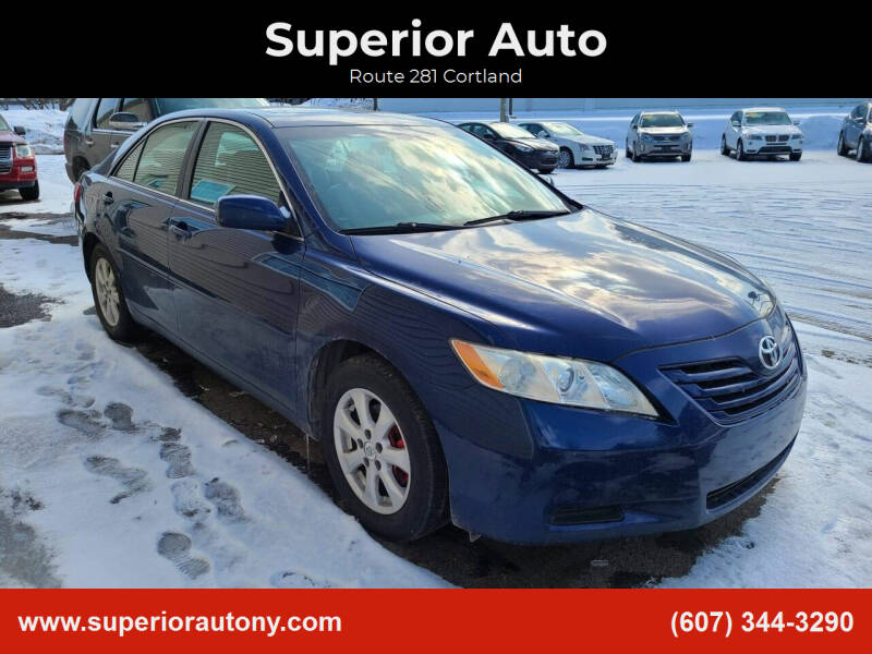 2007 Toyota Camry for sale at Superior Auto in Cortland NY