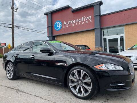 2011 Jaguar XJ for sale at Automotive Solutions in Louisville KY