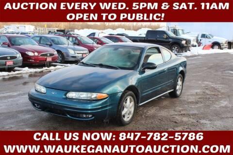 2003 Oldsmobile Alero for sale at Waukegan Auto Auction in Waukegan IL