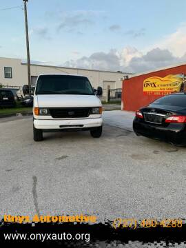 2006 Ford E-Series Cargo for sale at ONYX AUTOMOTIVE, LLC in Largo FL