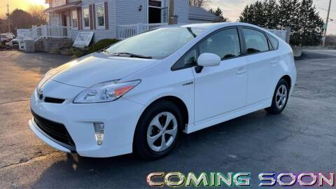 2015 Toyota Prius for sale at RBT Automotive LLC in Perry OH