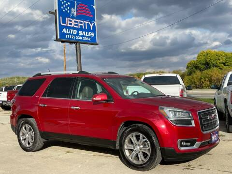 2013 GMC Acadia for sale at Liberty Auto Sales in Merrill IA