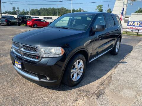 2013 Dodge Durango for sale at Bay Motors in Tomball TX