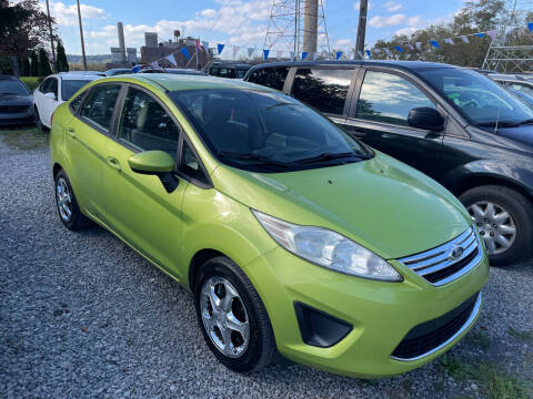 2011 Ford Fiesta for sale at Trocci's Auto Sales in West Pittsburg PA