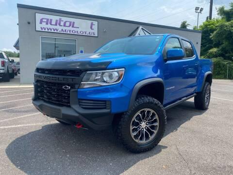 2021 Chevrolet Colorado for sale at AUTOLOT in Bristol PA