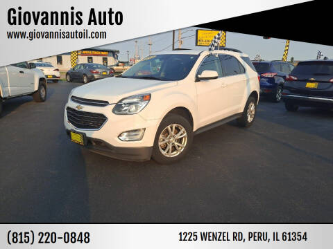 2017 Chevrolet Equinox for sale at Giovannis Auto in Peru IL