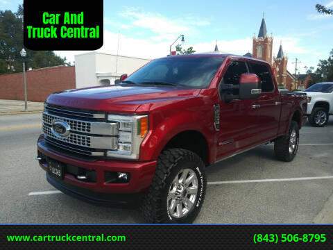 2017 Ford F-250 Super Duty for sale at Car And Truck Central in Dillon SC