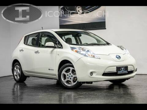 2012 Nissan LEAF for sale at Iconic Coach in San Diego CA