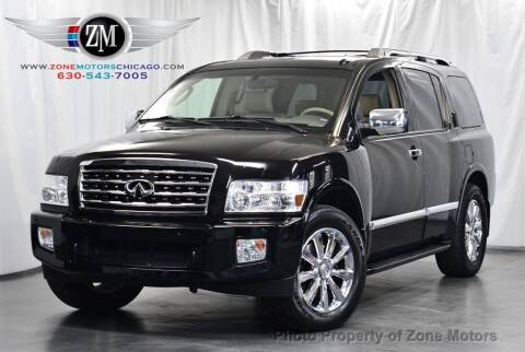 2008 Infiniti QX56 for sale at ZONE MOTORS in Addison IL
