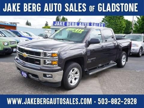 2014 Chevrolet Silverado 1500 for sale at Jake Berg Auto Sales in Gladstone OR