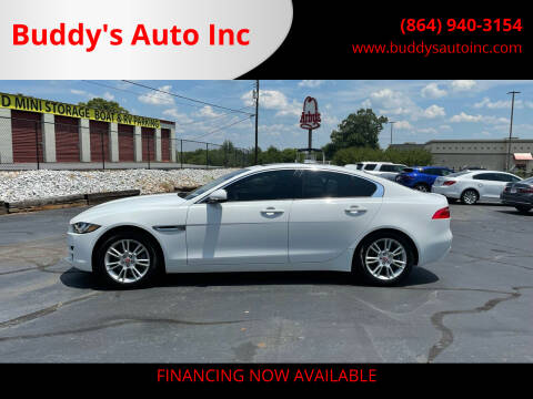 2017 Jaguar XE for sale at Buddy's Auto Inc in Pendleton, SC