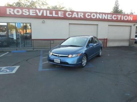 2006 Honda Civic for sale at ROSEVILLE CAR CONNECTION in Roseville CA