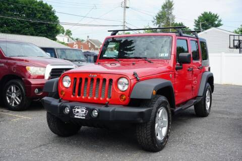 2008 Jeep Wrangler Unlimited for sale at HD Auto Sales Corp. in Reading PA