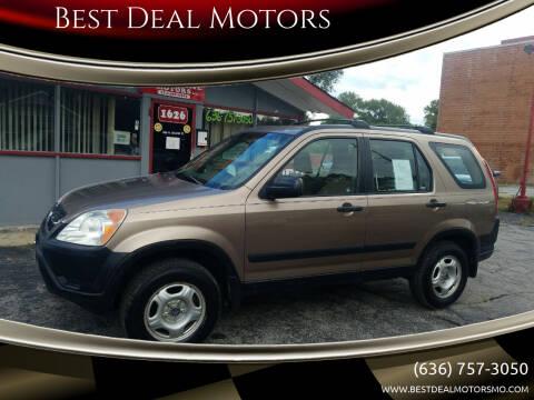 2003 Honda CR-V for sale at Best Deal Motors in Saint Charles MO