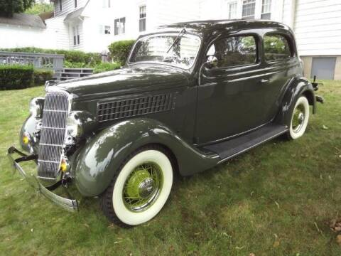1935 Ford Tudor for sale at Classic Car Deals in Cadillac MI
