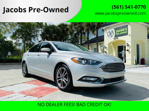 2017 Ford Fusion for sale at Jacobs Pre-Owned in Lake Worth FL