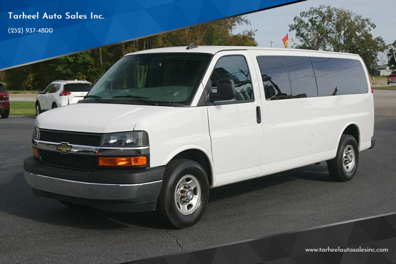 2019 Chevrolet Express Passenger for sale at Tarheel Auto Sales Inc. in Rocky Mount NC