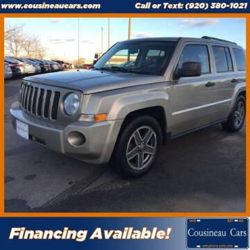 2009 Jeep Patriot for sale at CousineauCars.com in Appleton WI