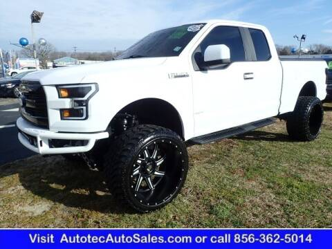 2015 Ford F-150 for sale at Autotec Auto Sales in Vineland NJ