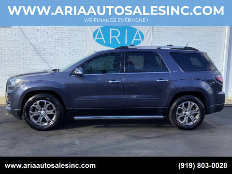 2014 GMC Acadia for sale at ARIA  AUTO  SALES in Raleigh NC
