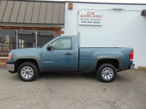 2007 GMC Sierra 1500 for sale at CR Garland Auto Sales in Fredericksburg VA