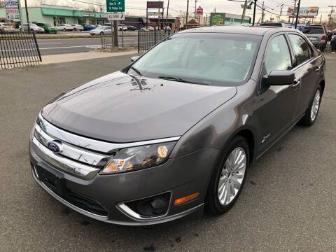 2011 Ford Fusion Hybrid for sale at MAGIC AUTO SALES in Little Ferry NJ