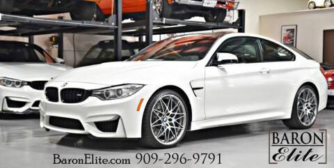 2016 BMW M4 for sale at Baron Elite in Upland CA
