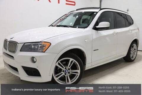 2012 BMW X3 for sale at Fishers Imports in Fishers IN