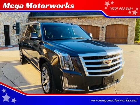 2016 Cadillac Escalade ESV for sale at Mega Motorworks in Appleton WI