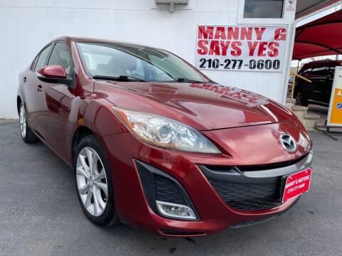 2010 Mazda MAZDA3 for sale at Manny G Motors in San Antonio TX