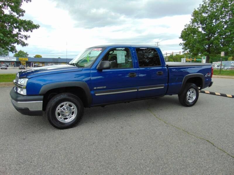 2003 Chevrolet Silverado 1500HD for sale at CR Garland Auto Sales in Fredericksburg VA