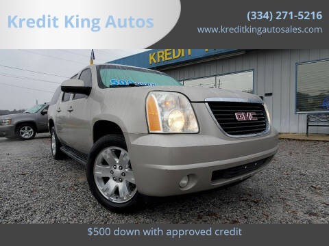 2009 GMC Yukon XL for sale at Kredit King Autos in Montgomery AL