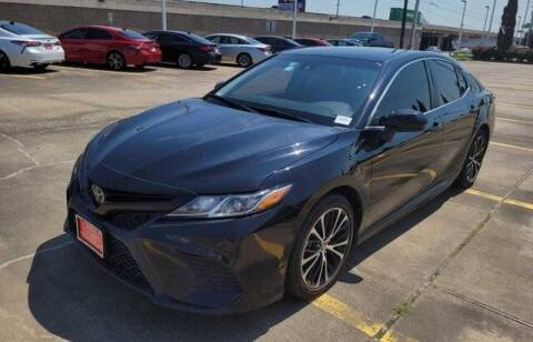 2018 Toyota Camry for sale at FREDY USED CAR SALES in Houston TX