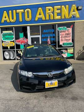2009 Honda Civic for sale at Auto Arena in Fairfield OH