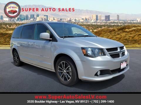 2017 Dodge Grand Caravan for sale at Super Auto Sales in Las Vegas NV
