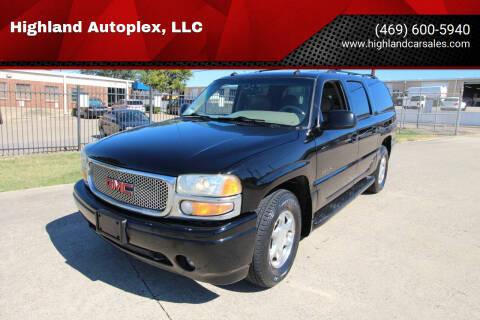 2003 GMC Yukon XL for sale at Highland Autoplex, LLC in Dallas TX