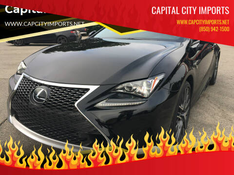 2017 Lexus RC 200t for sale at Capital City Imports in Tallahassee FL