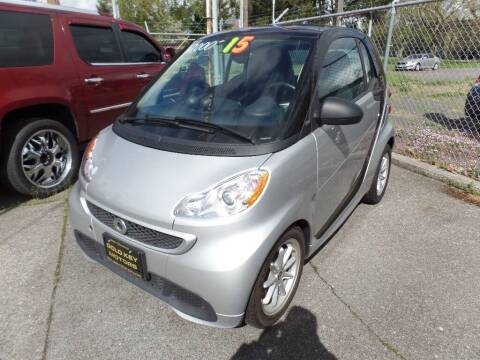 2015 Smart fortwo electric drive for sale at Gold Key Motors in Centralia WA