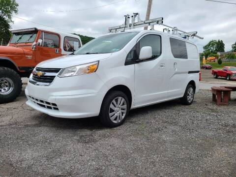 2015 Chevrolet City Express Cargo for sale at BABO'S MOTORS INC in Johnstown PA